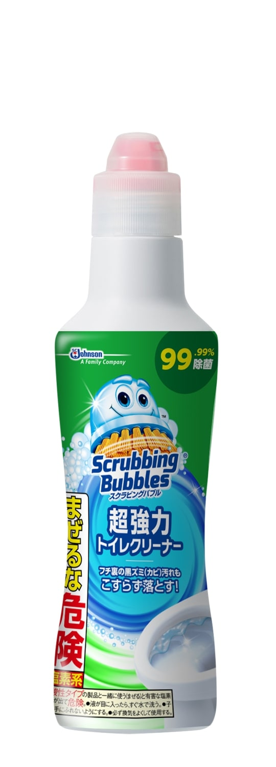 J スクラビングバブル 超強力トイレクリーナー 400g<br>J scrubbing bubble super powerful toilet cleaner 400g