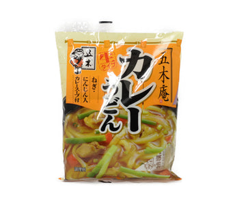 五木食品 五木庵カレーうどん 220g<br>ITSUKI UDON NOODLES WITH SOUP CURRY 220G