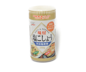 CGC 味付塩こしょう 250g<br>CGC SEASONED SALT AND PEPPER 250G