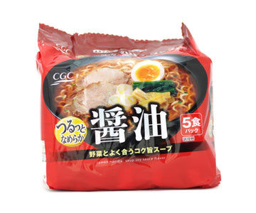 CGC 東洋水産 醤油ラーメン 5pieces<br>CGC TOYO SUISAN soy SAUCE ramen 5pieces