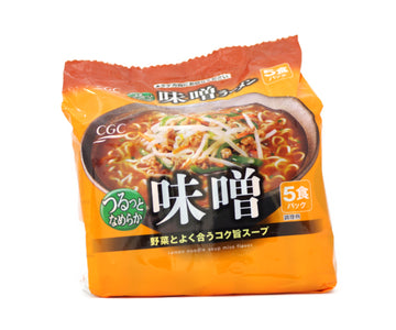 CGC 東洋水産 味噌ラーメン 5pieces<br>CGC TOYO SUISAN Miso Ramen 5pieces