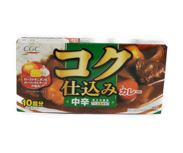 CGC コク仕込みカレー 中辛 160g<br>CGC CURRY MID-SPICY 160G