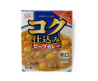 CGC コク仕込みビーフカレー 辛口 1人前<br>CGC BEEF CURRY SPICY 200G