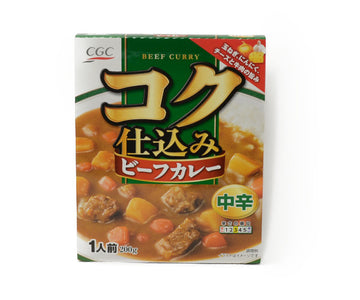 CGC コク仕込みビーフカレー 中辛 1人前<br>CGC BEEF CURRY MID-SPICY 200G