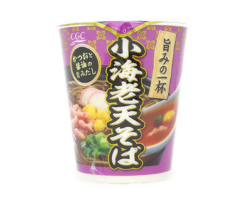 CGC 日清食品 旨みの一杯 小海老天そば 67g<br>CGC NISSIN FOODS UMAMINOIPPAI small shrimp heaven buckwheat flavor 67g