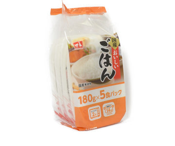 CGC 国産おいしいごはん 180g×5P<br>CGC JAPANESE DELICIOUS RICE 5PC