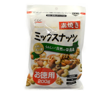 CGC UNGLAZED MIXED NUTS ECONOMICAL 200G