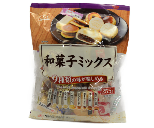 CGC 和菓子ミックス 255g<br>CGC JAPANESE SWEETS MIX 225G