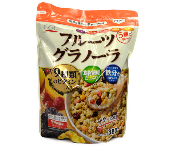 CGC FRUIT GRANOLA 380G