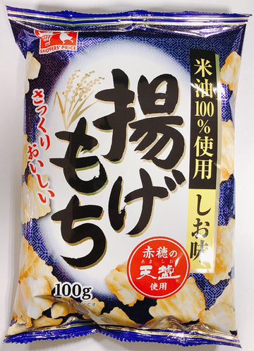CGC 揚げもち しお味 100g<br>CGC fried rice cake salty 100g