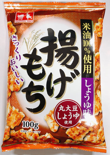 CGC 揚げもち しょうゆ味 100g<br>CGC fried rice soy sauce 100g
