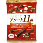 CGC パーティアソートチョコ 200g<br>CGC party assorted chocolate 200g