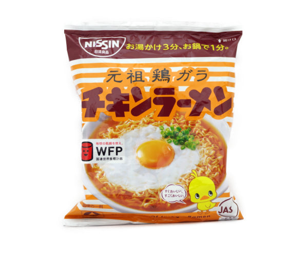 日清食品 チキンラーメン 1piece<br>NISSIN FOODS Chicken Ramen 1piece