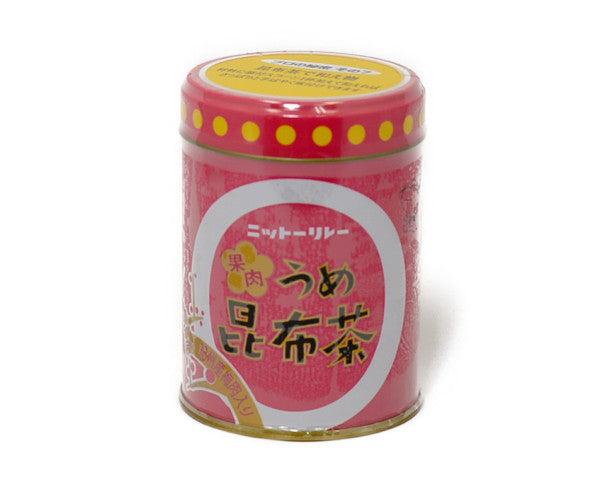 日東 果肉入り梅昆布茶 60g<br>NITTO PLUM PULP CONTAINING KELP TEA 60G