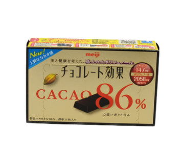 MEIJI CHOCOLATE EFFECT CACAO 86% 70G