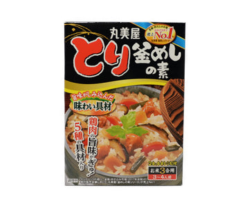 丸美屋 とり釜めしの素 3合用<br>MARUMIYA CHICKEN KAMAMESHI NO MOTO 3 TO 4 SERVINGS