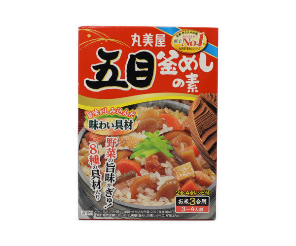 丸美屋 五目釜めしの素 3合用<br>MARUMIYA GOMOKU KAMAMESHI NO MOTO 3 TO 4 SERVINGS