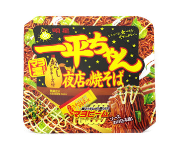 明星食品 一平ちゃん夜店の焼そば 135g<br>MYOJO FOODS Yakisoba of Ippei-chan night stall 135g
