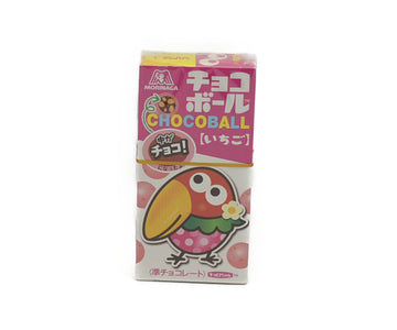 MORINAGA CHOCOLATE BALL STRAWBERRY 25G