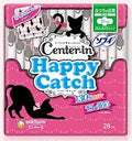 UC CIハッピーキャッチふつうの日用 羽つき 28枚入<br>UC CI Happy catch ordinary daily wings with 28 pieces
