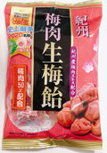 リボン 紀州梅肉生梅飴 75g<br>Ribbon Kishu plum meat production Umeame 75g