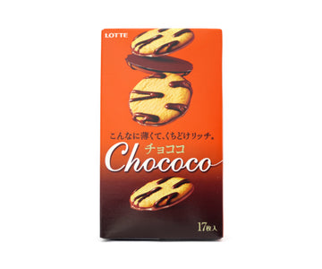 ロッテ チョココ 17pieces<br>LOTTE ChoCOCO 17pieces