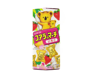 ロッテ コアラのマーチ いちご 48g<br>LOTTE Koala NO March STRAWBERRY FLAVOR 48g