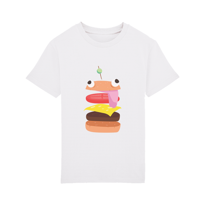 T-shirt Burger Enfant