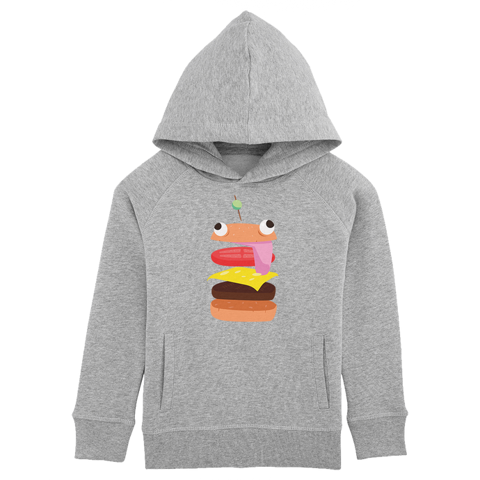 Sweat à capuche Burger Enfant