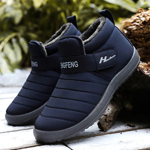 Men 2020 New Fashion Warm Snow Boots