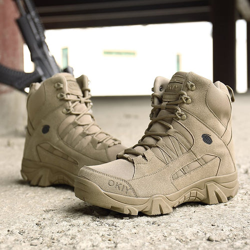 Mens New Footwear Military Tactical Boots