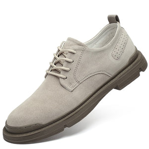 Mens Classic Casual Suede Leather Shoes