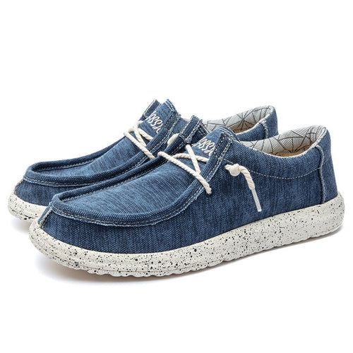 Men Casual Canvas Driving Shoes