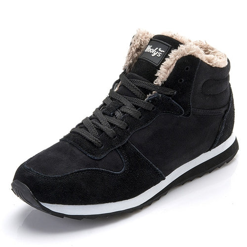 Men Winter Warm Ankle Boots