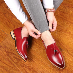 Men Gentlemen British style Dress Shoes