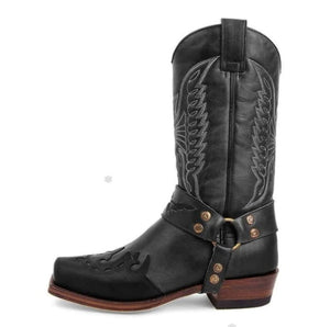 Men Mid-calf Handmade Retro Leisure Boots