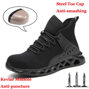 Men Safety Metal Toe Indestructible Shoes