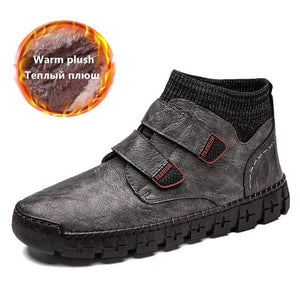 Men's Fur Warm Ankle Boots