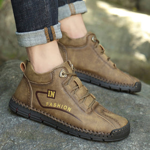 Men Plush Comfortable Men Ankle Boots