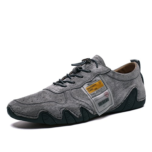 Men Plus Size Suede Leather Shoes