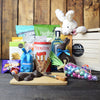 Easter Feast with Liquor BroCrate, Easter gift baskets, liquor gift baskets,liquor gift crates, gourmet gift baskets, gift baskets, holiday gift baskets