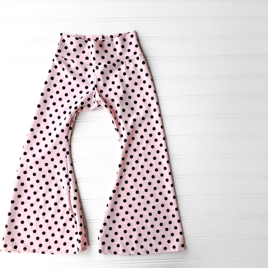 {theary bells} in pink polka dots // made to order