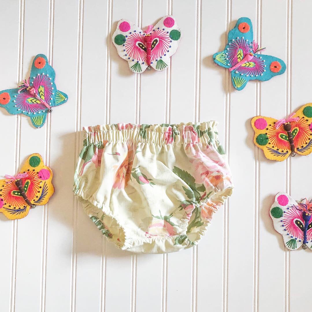 floral bloomers