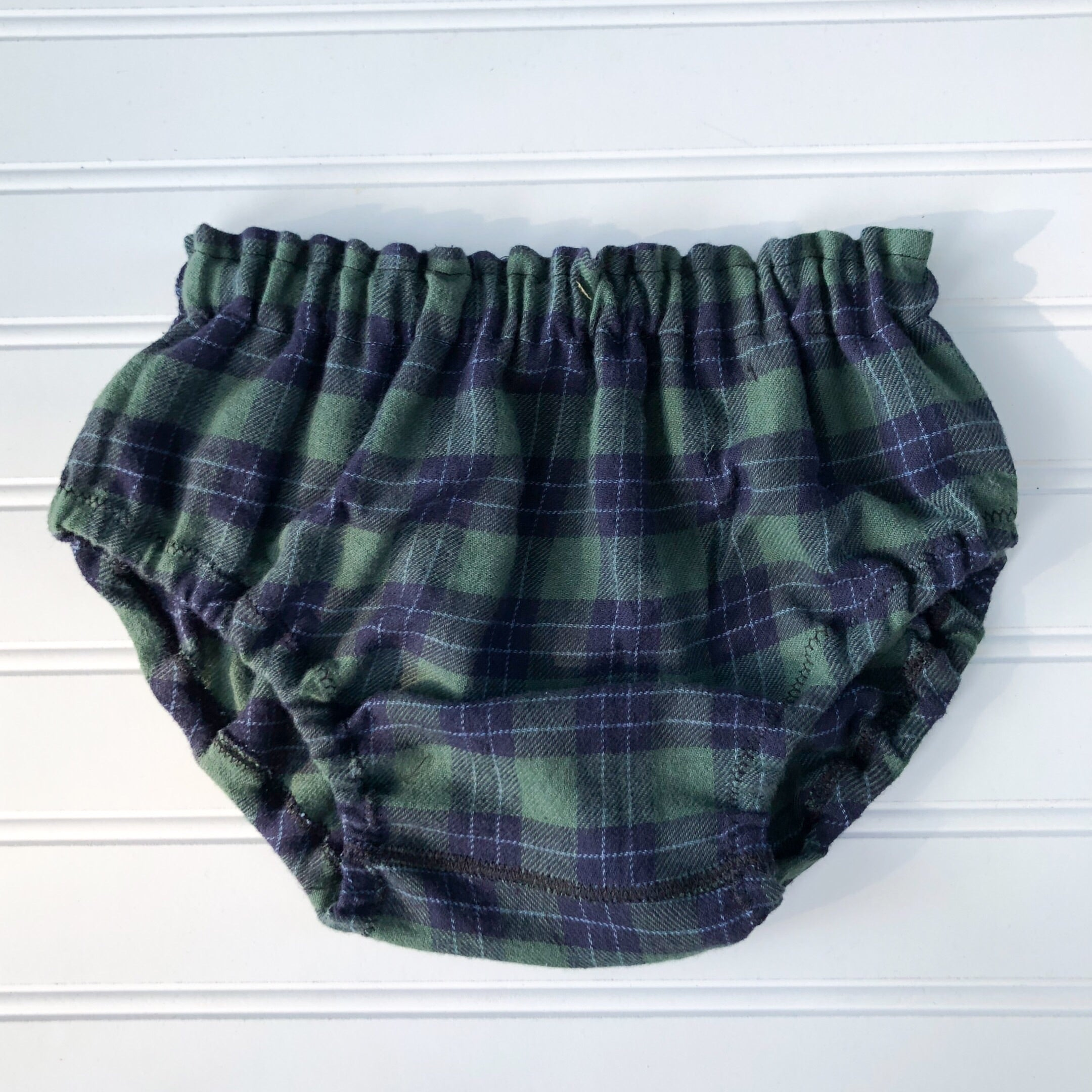 {bloomer shop} plaid navy + hunter // made to order