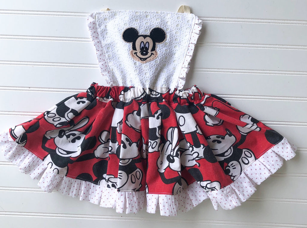 whimsical mickey pinafore || size 18/24 (ready to ship)