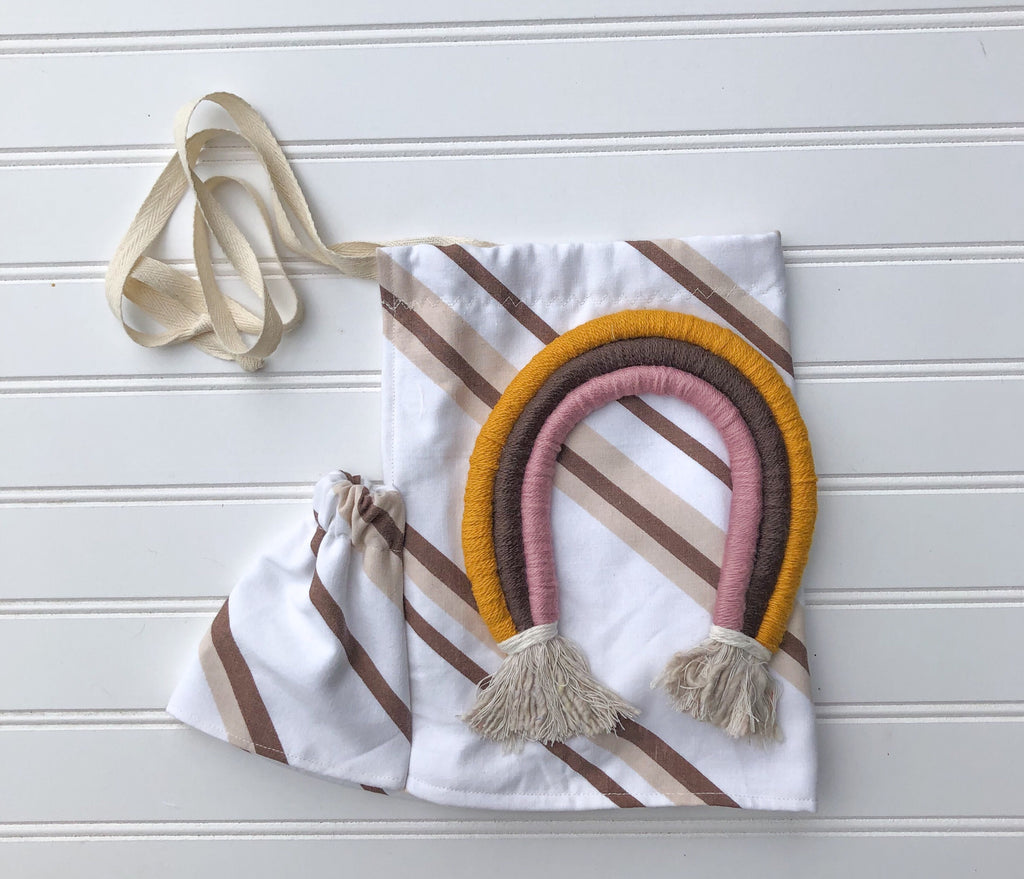 customizable rainbow  halter [brownie sundae]
