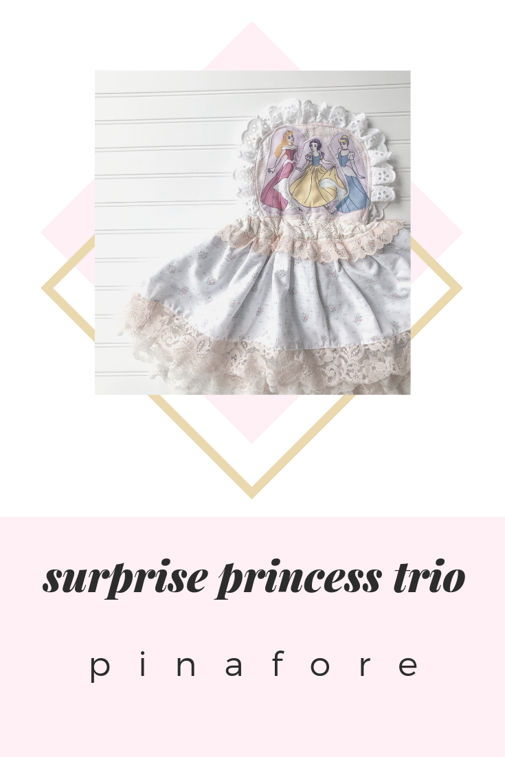 {princess trio} SURPRISE pinafore // MADE TO ORDER