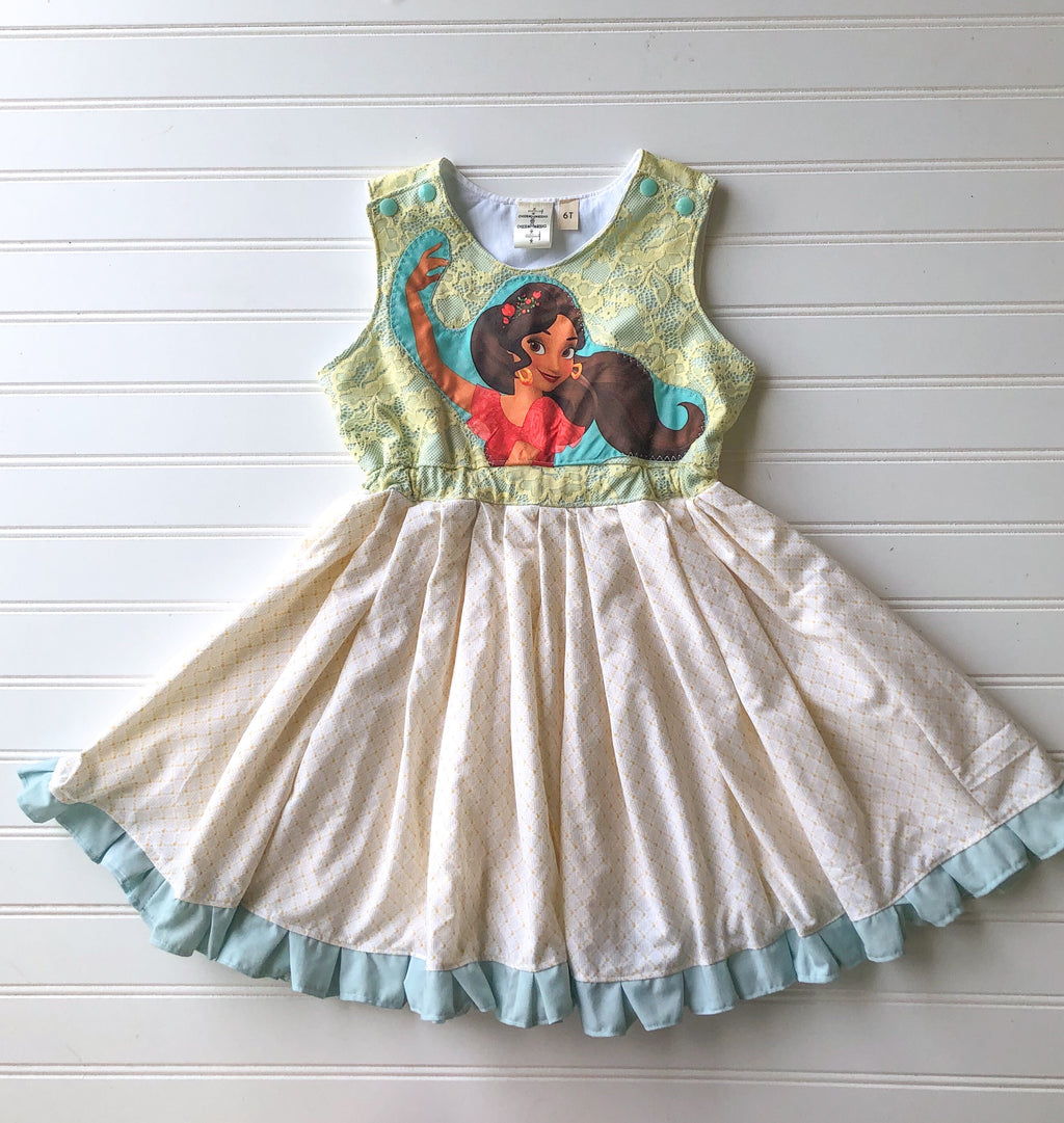 whimsical elena josie dress || size 6 (ready to ship)