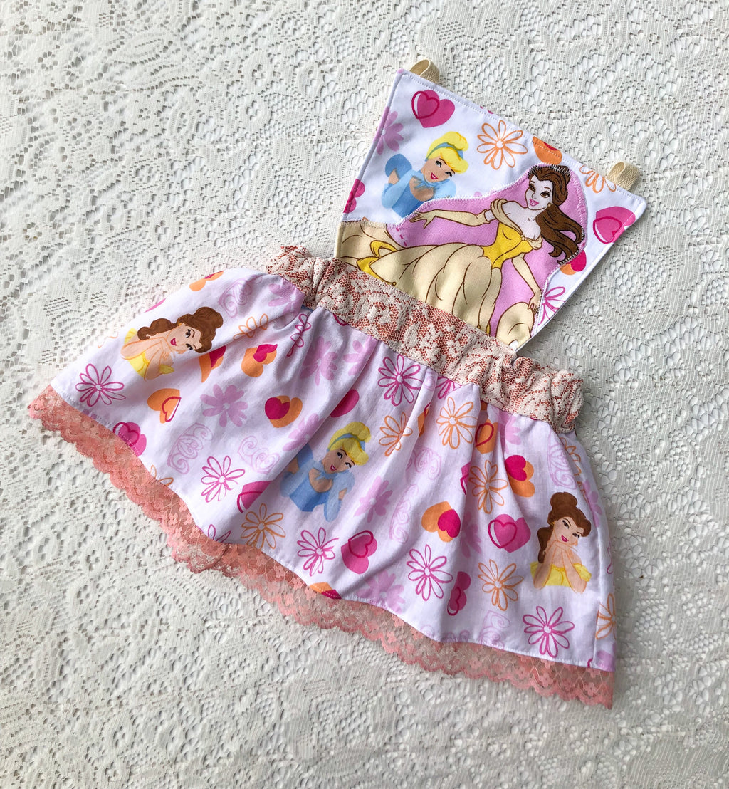 whimsical princess sunsuit pinnie || size 18/24 (ready to ship)