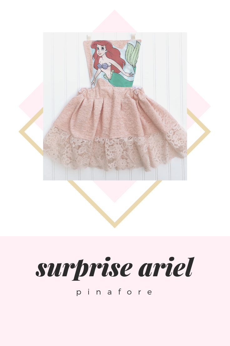 {ariel} SURPRISE pinafore // MADE TO ORDER